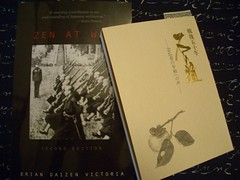 Recent readings on Japan Buddhism and WWII