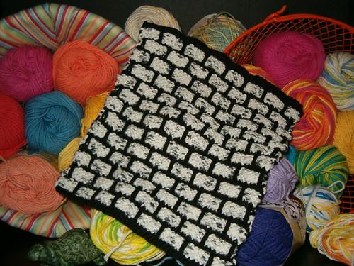 Mason-Dixon Ballband Dishcloth