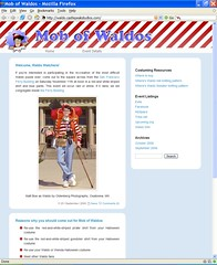 Mob of Waldos web site