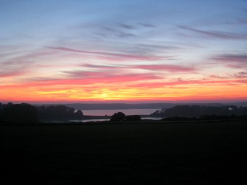 Denmark sunset