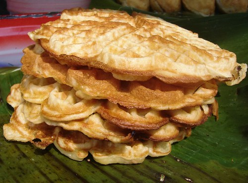 lao fruit waffles
