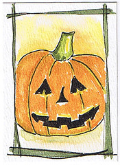 Halloween ATC 2