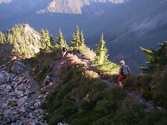 Snow Lake/Goldmeyer loop from Snoqualmie Pass 057
