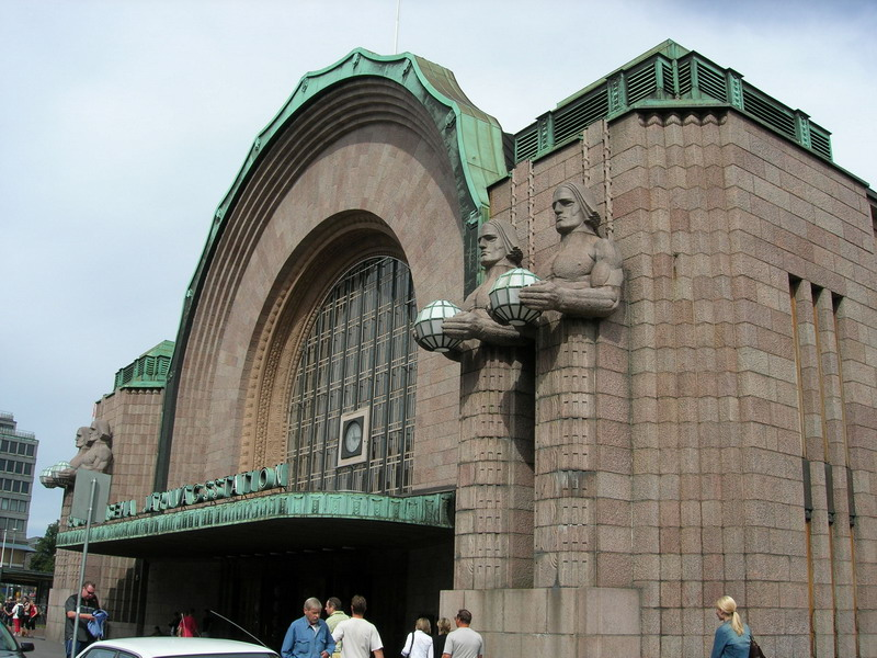 Helsinki火车站