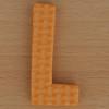 Foam Letter L