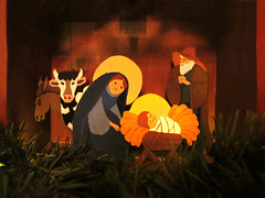 Holy Family in the Stable * MERRY CHRISTMAS to all my flickr friends* photo by Batikart