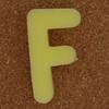 Sponge Letter F