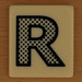 PAIRS IN PEARS Dotted Letter R