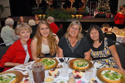 STF Women's Christmas Dinner 2012