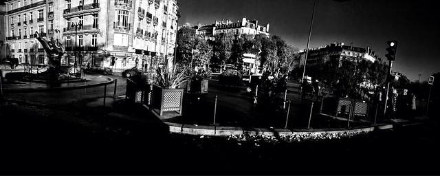 iPhone b&w panoramas