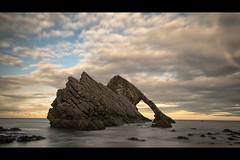 Bow Fiddle Rock - Portnockie photo by Michael Carver Photography