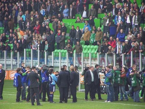 8225908301 3fa37327af FC Groningen   Ajax (brand Euroborg), 13 april 2008