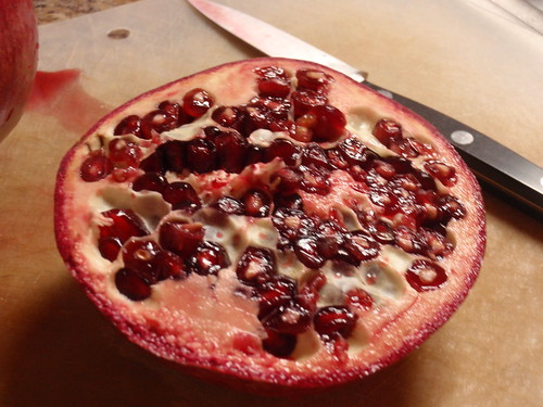 My First Pomegranate