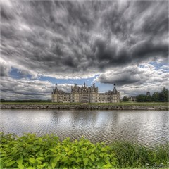 Chambord castle clouds 2012-08-07 135055 hdr square [Explore Front Page 15 nov 2012] photo by AnZanov