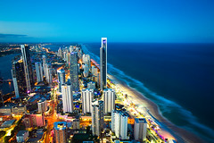 Gold Coast view from Q1 skypoint photo by louistop(翼賢)