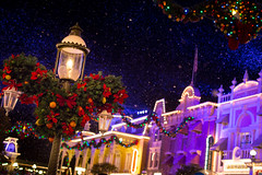 Magic Kingdom - Christmas Time on Main Street photo by Jeff Krause Photography