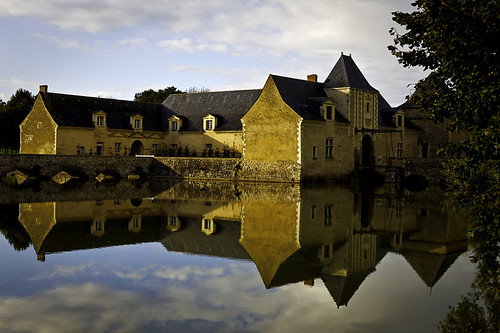 Reflection in Moat