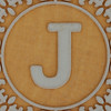 John Crane Classic Block Letter J