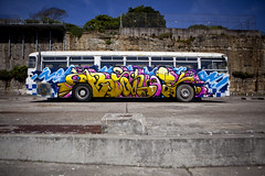 Ironlak Bus (Cockatoo Island 2011) photo by Ironlak