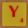 Scrabble Simpsons Letter Y