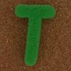 Sponge Letter T