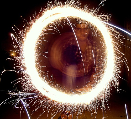 Long Exposure Fireworks Example 2