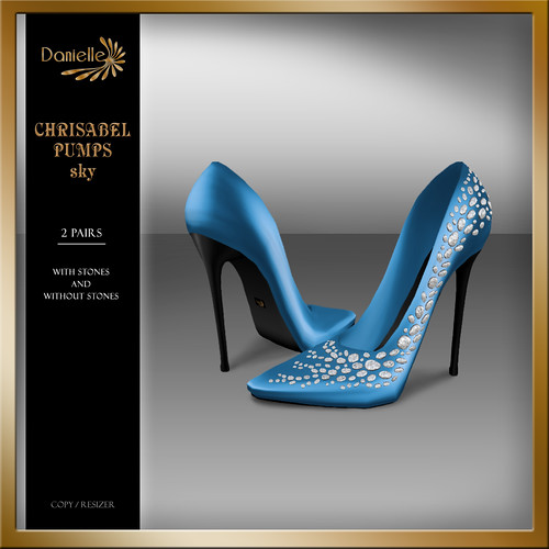 DANIELLE Christabel Pumps Sky