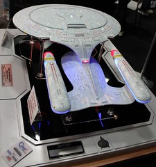 2012-Star Trek The Next Generation's Enterprise Model at the Qmx FX Cinema Arts at SDCC-17 photo by David Cummings62