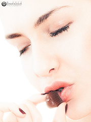 Chocolate Beauty 4 - Close-up photo by Gordon Blackler