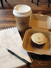 Tea & Sketching photo by PatchworkPottery