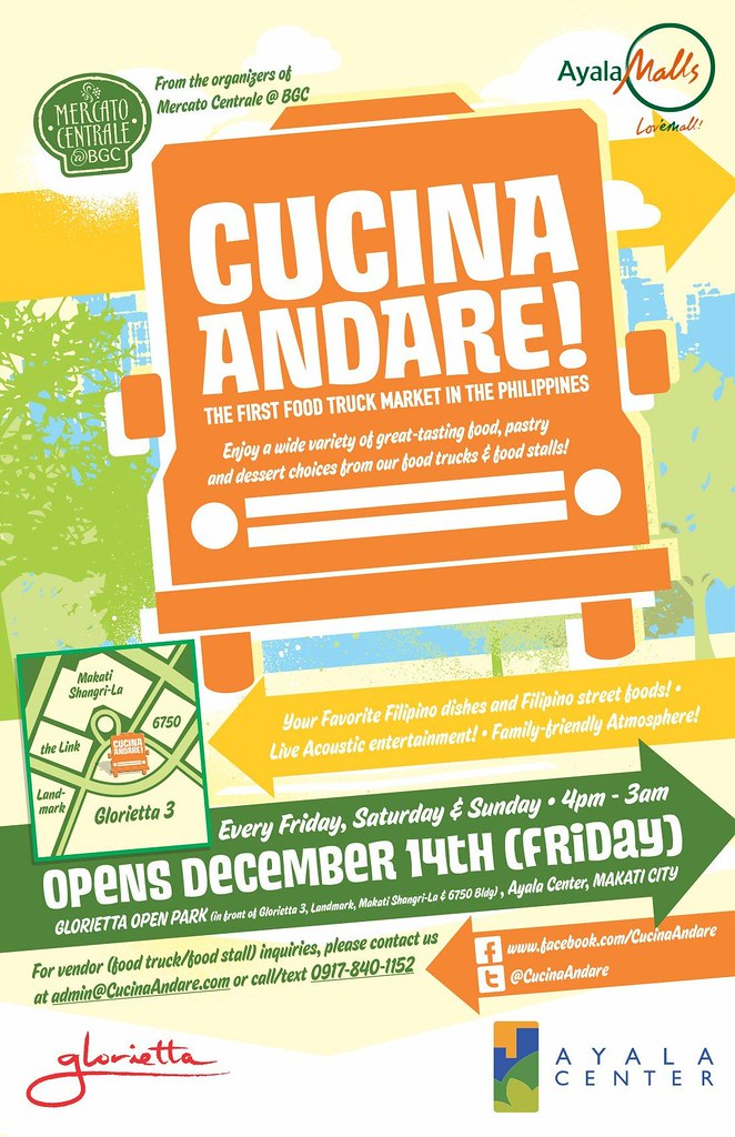 Cucina Andare - First Food Truck Market in the Philippines