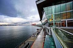 Vancouver Convention Centre in Winter photo by TOTORORO.RORO