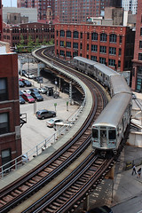 Chicago L photo by russ david