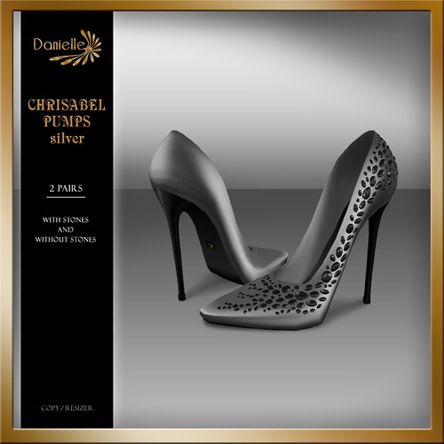 DANIELLE Christabel Pumps Silver