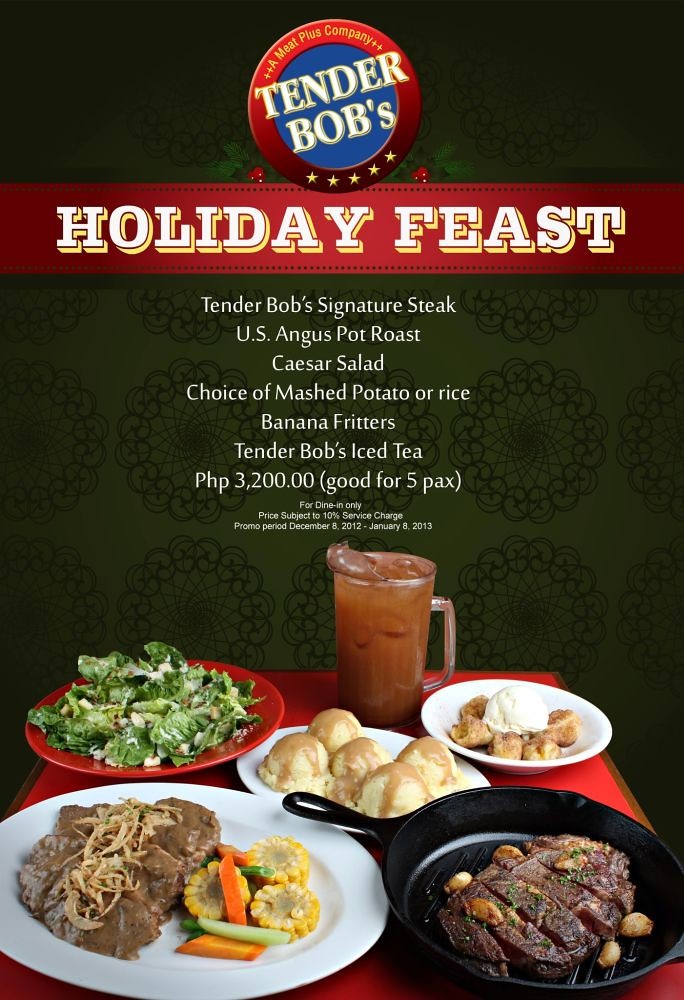 Tender Bob's Holiday Feast