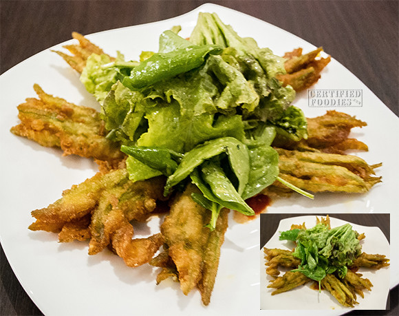 Cafe 1771 - Fried Squash Flowers