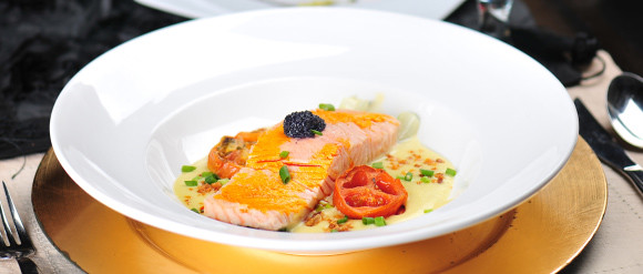 Casa Roces Milk-Poached Salmon Fillet