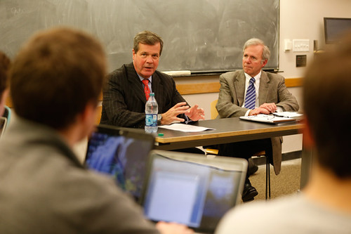 365@VU: 34 - Mayors share insight                with public policy studies class