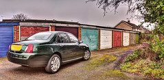 Rover 75 Contemporary SE HDR photo by Clifford Fearnley