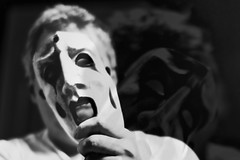 """""""Horror is The Removal of Masks"""" photo by basselal"""