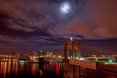 Brooklyn Bridge from Manhattan at South Street.. photo by RobNYCity