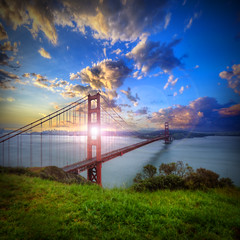 Golden Gate Sunrise photo by Michael Lawenko dela Paz