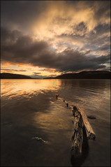 Loch Ness Sunset photo by Michael Carver Photography