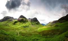 Glen Coe Panorama photo by Philipp Klinger Photography
