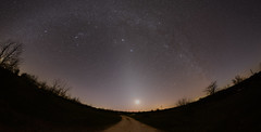 """""""Path to the Light"""" - Zodiacal Light & Moon photo by Harles99"""