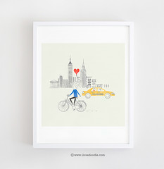 Love at first sight at NYC photo by ILoveDoodle