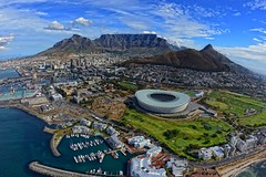 Cape Town Aerial View photo by Rivertay07 more off than off