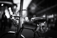 Bike, Bokeh, and Bourbon Street - Explored photo by sean lancaster