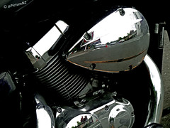 The Honda's Shadow photo by Steve Taylor (Photography)