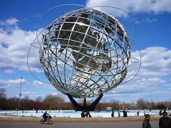 The Unisphere in Flushing Meadows Corona Park, Queens, New York photo by Paul Anthony Moore